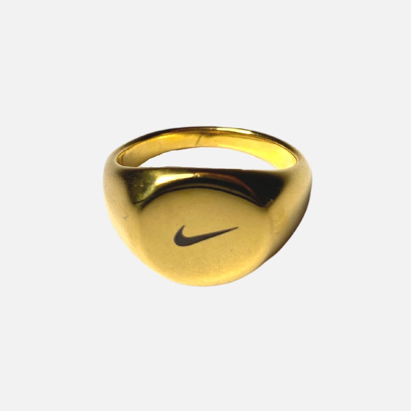 Swoosh Ring Gold Adorn Lab