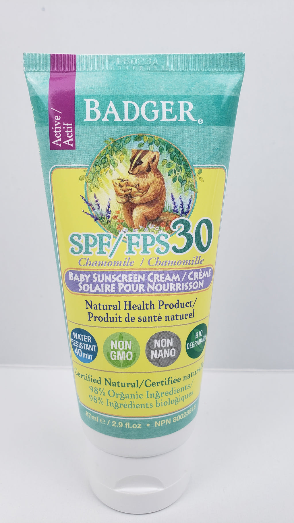 Badger Sunscreen Baby SPF30