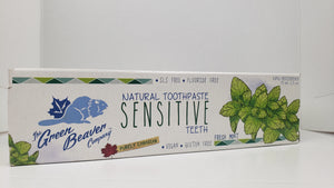GREEN BEAVER Natural Toothpaste - Sensitive Teeth