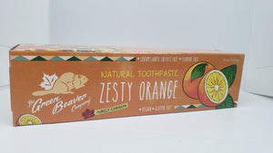 GREEN BEAVER Natural Toothpaste - Zesty Orange