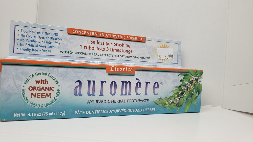 AUROMERE Licorice Toothpaste