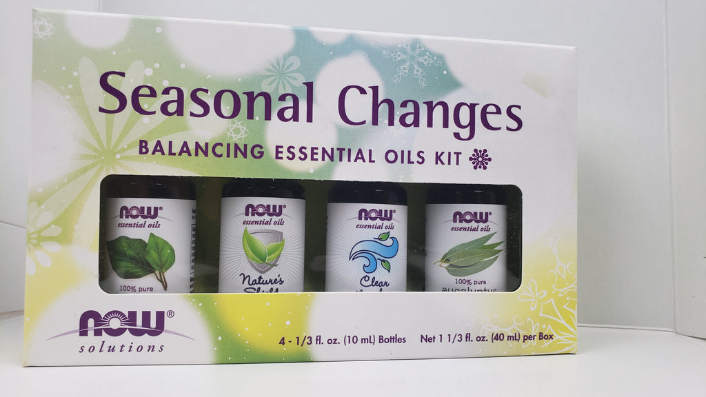 Seasonal Changes Essential Oil Kit 100% Pure