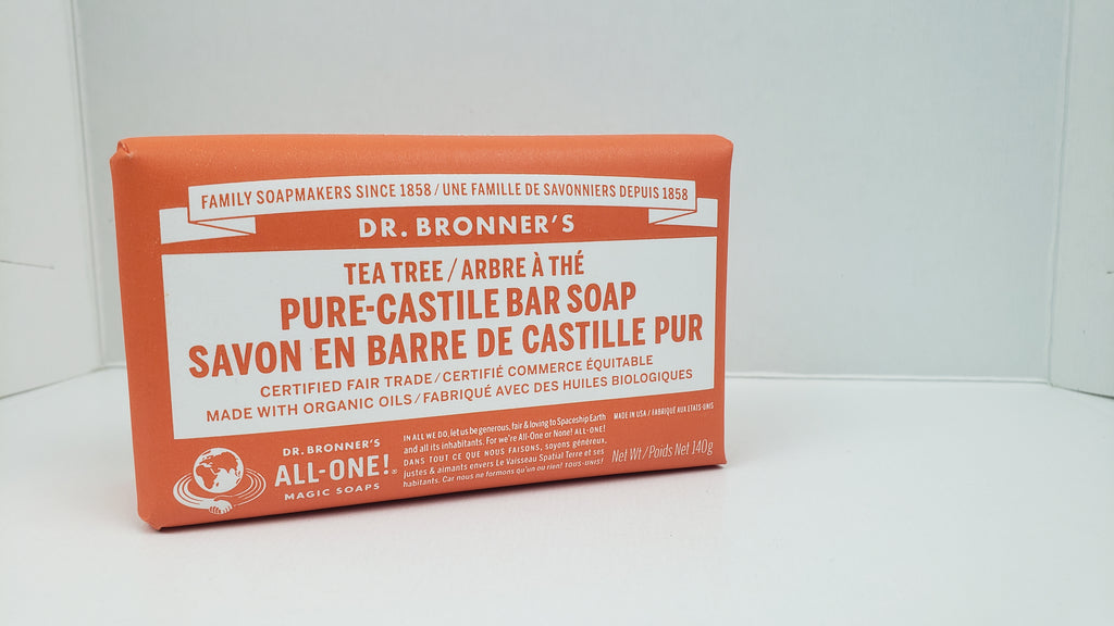 DR BRONNERS Bar Soap 237ml - Tea Tree