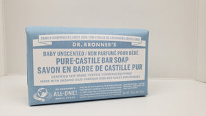 DR BRONNERS Bar Soap 237ml - Unscented
