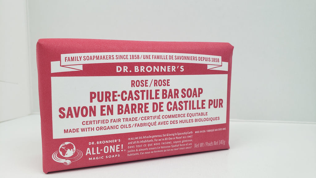 DR BRONNERS Bar Soap 237ml - Rose