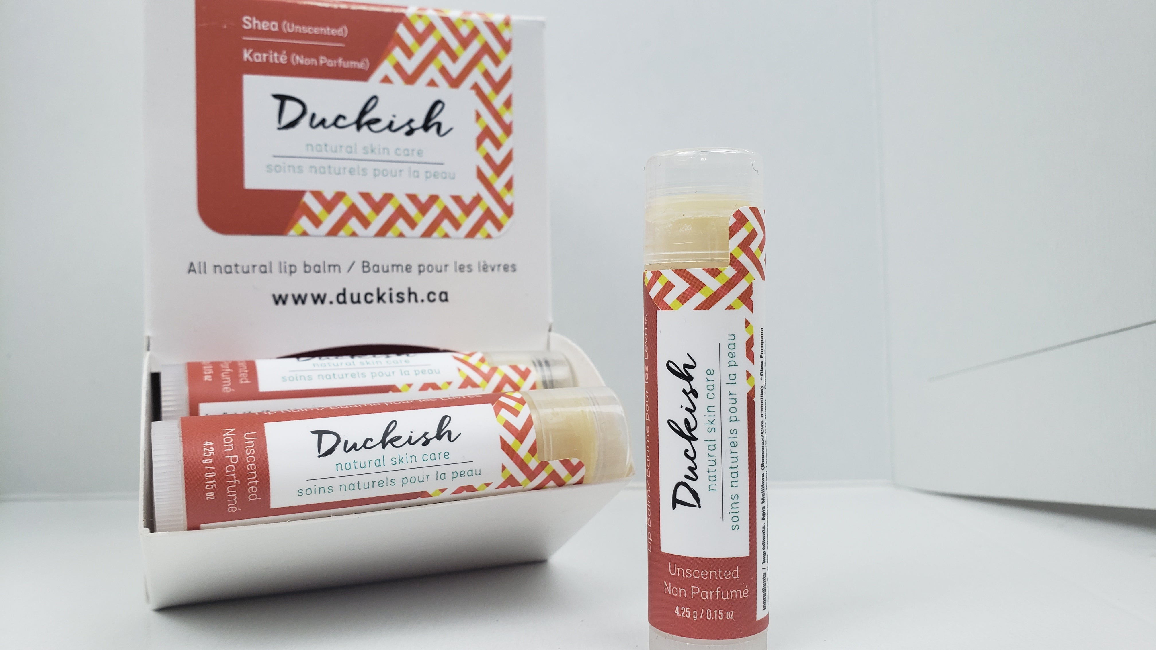 DUCKISH - Unscented Natural Lip Balm