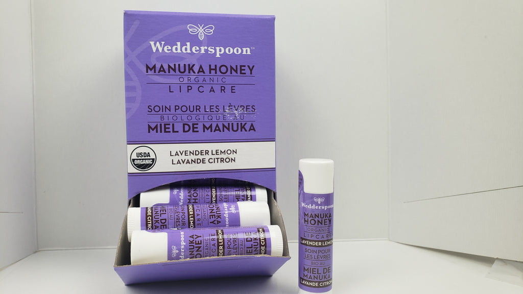 WEDDERSPOON Manuka Honey Lip Balm - Lavender Lemon