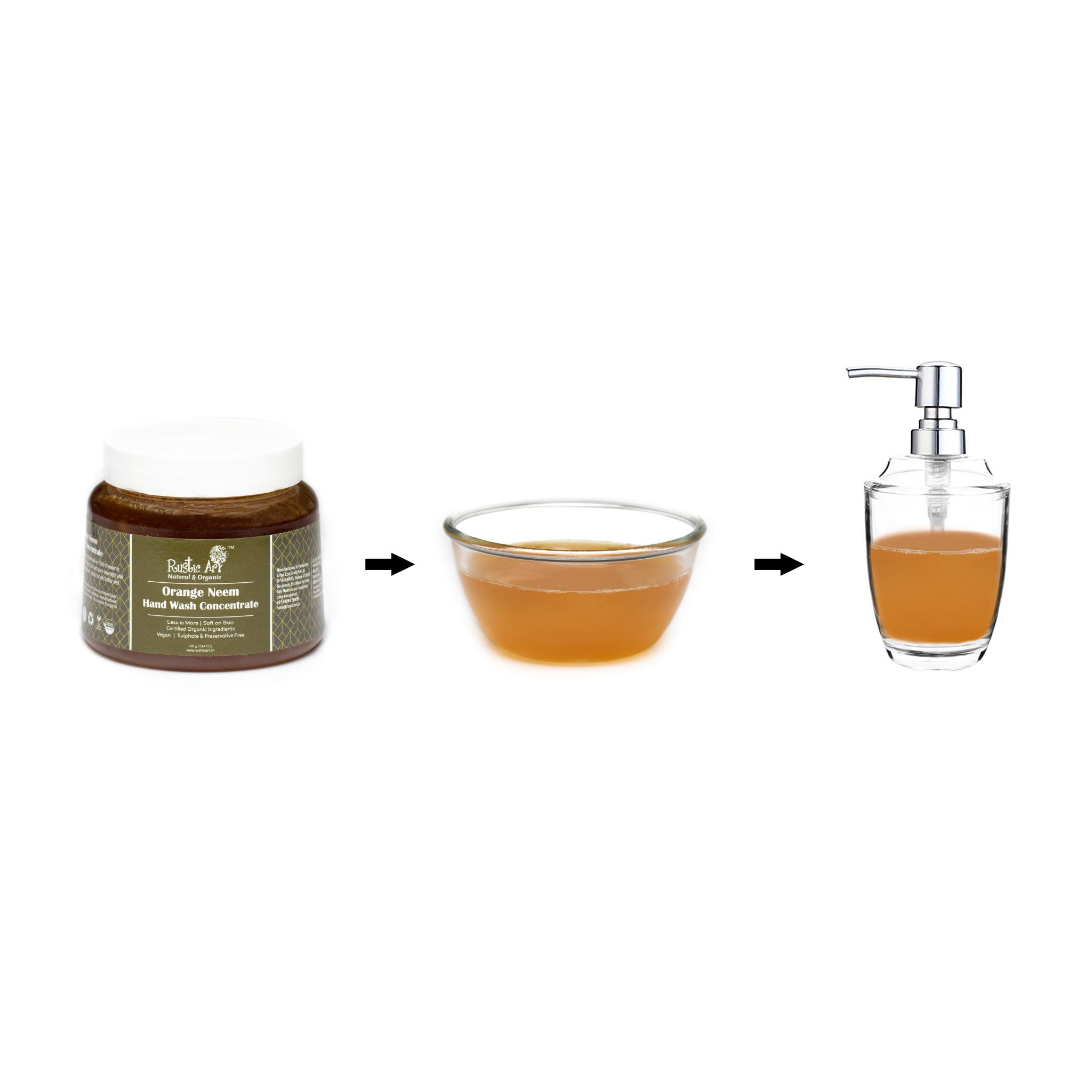 Orange Neem Hand Wash Concentrate
