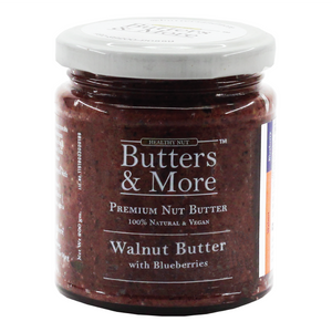 Open image in slideshow, Walnut Butter w. Natural Blueberries