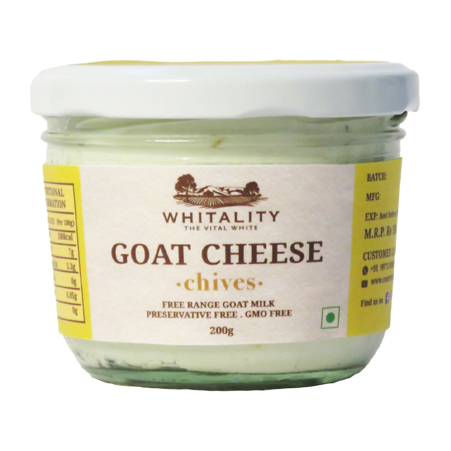 Goat Milk Chèvre with Chives