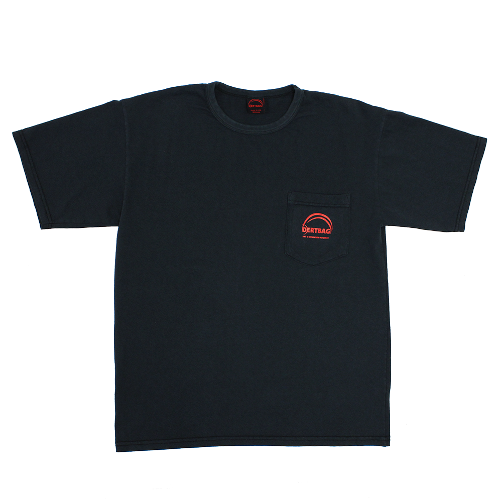 WASHED BLACK DERTBAG MERIT SHIRT