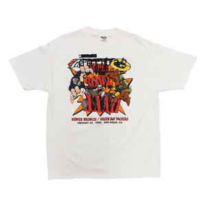 PRINTED PROTOTYPE SUPER BOWL XXXII T-SHIRT XL