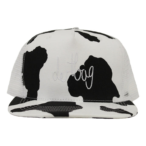 Cow Print Trucker Hat