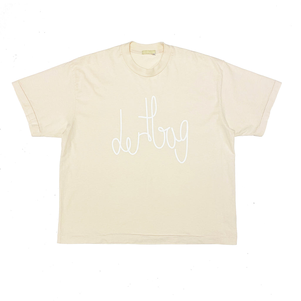 STAR WHITE DERTBAG LOGO T-SHIRT