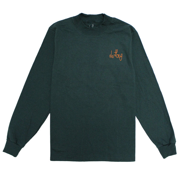 GREEN CONNECT MOCK LONGSLEEVE