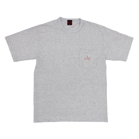 WASHED HEATHER GREY DERTBAG MERIT SHIRT