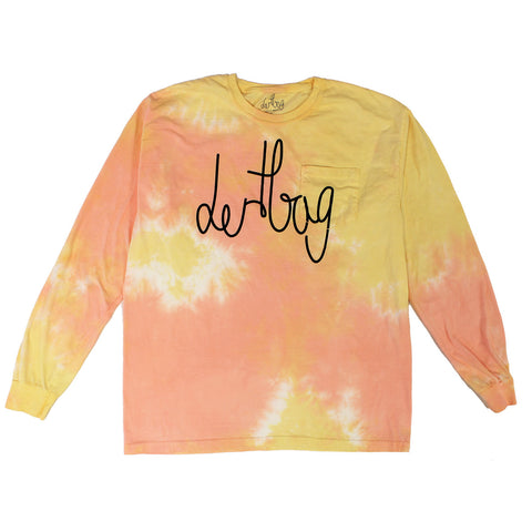 DERTBAG CONNECT LONGSLEEVE TIE DYE