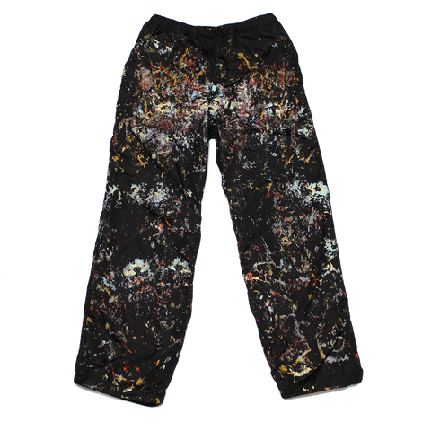 PAINTED NYLON PANTS