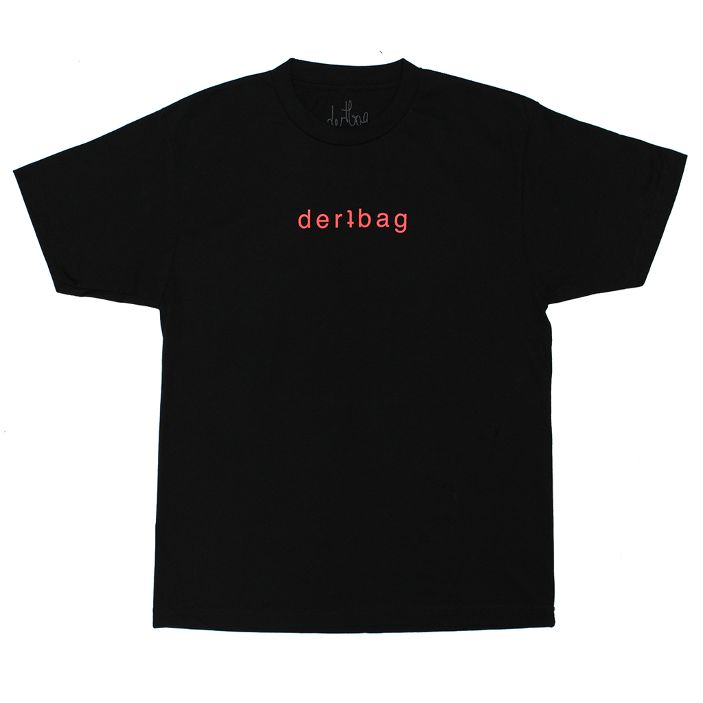 BLACK DERTBAG LOGO T-SHIRT
