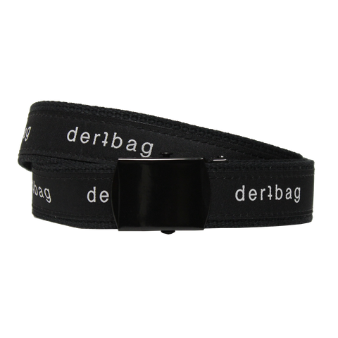 BLACK DERTBAG WEB BELT