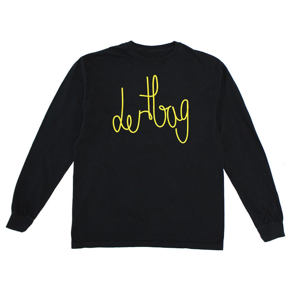 Black Connect Longsleeve