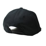Black Ripstop Polo Cap