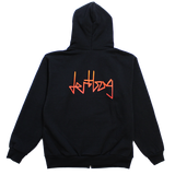 GRADIENT CONNECT ZIP UP HOODIE