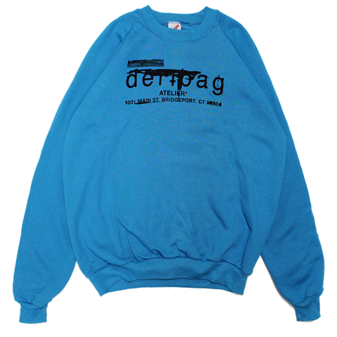 CYAN VINTAGE JERZEES SWEATER - XL