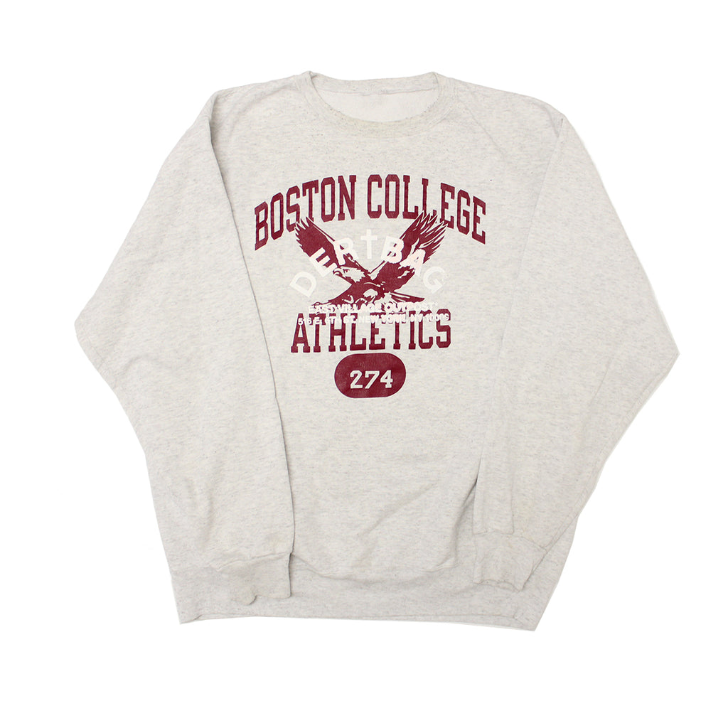 VINTAGE BOSTON COLLEGE CREWNECK LARGE