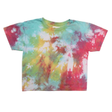 BOXY TIE DYE RECYCLED COTTON T-SHIRT