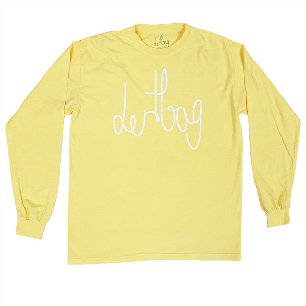 PALE YELLOW CONNECT LONGSLEEVE