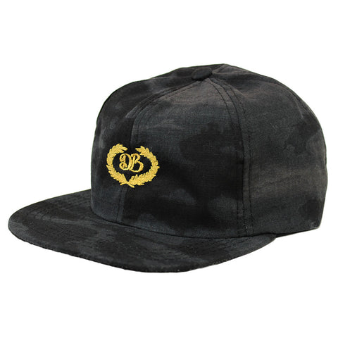 DB ACADEMY 6 PANEL CAMO RIPSTOP HAT