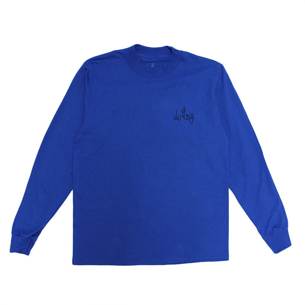 Blue Connect Mock Turtleneck