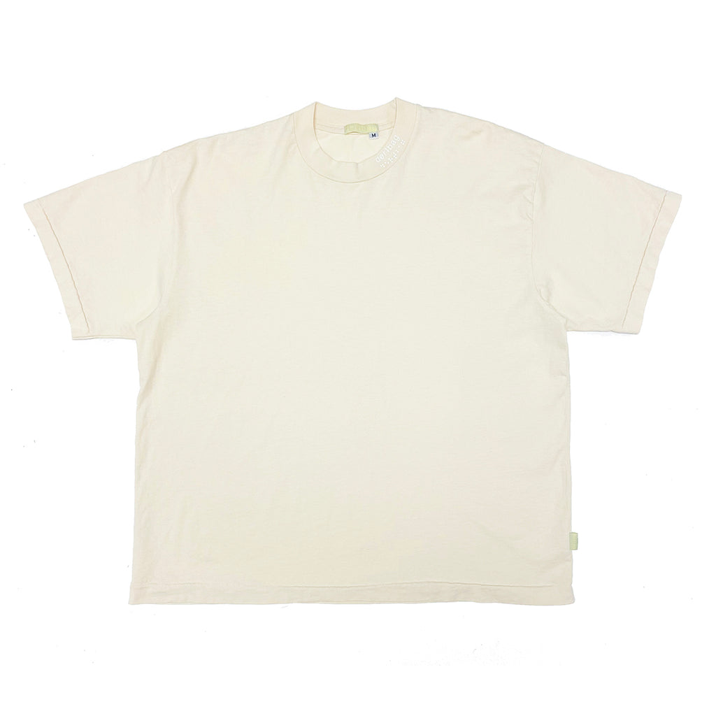 STAR WHITE DERTBAG NECK PRINT T-SHIRT