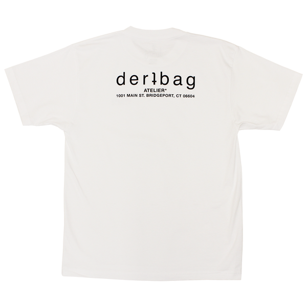 WHITE MINI ATELIER LOGO T-SHIRT