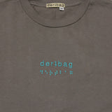 DERTBAG EMBROIDERED BRAILLE T-SHIRT