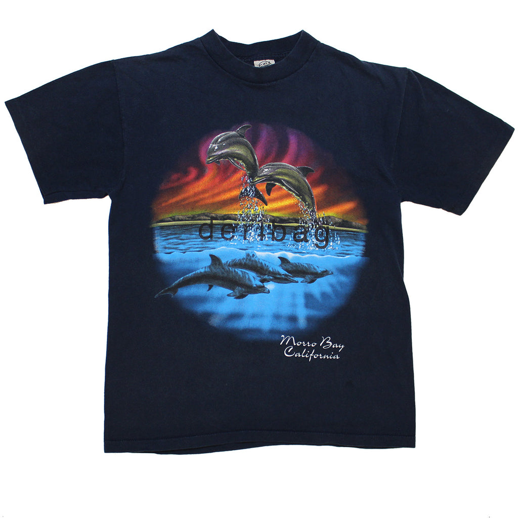 PRINTED PROTOTYPE VINTAGE DOLPHIN T-SHIRT