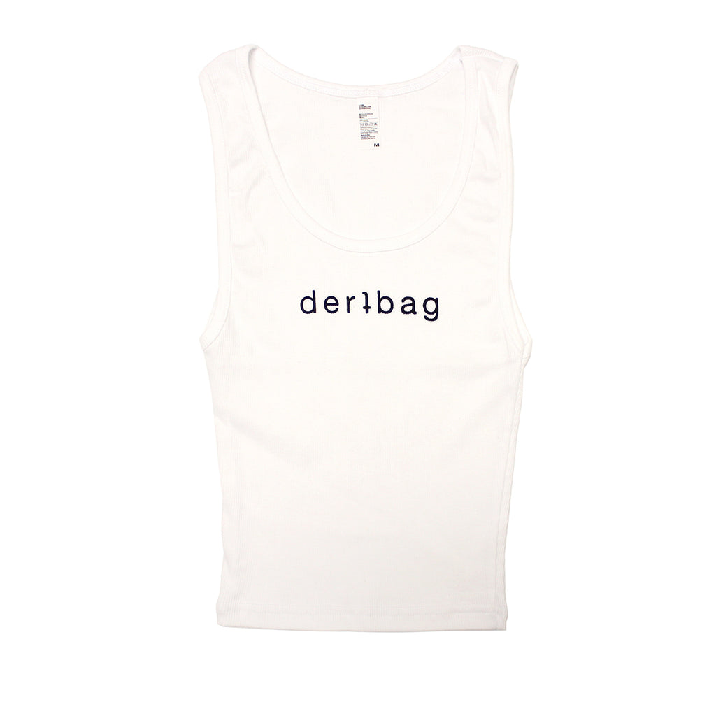 GERL WHITE TANK TOP