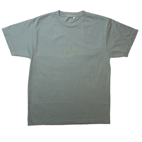 DERTBAG BRAILLE CONNECT SLATE T-SHIRT