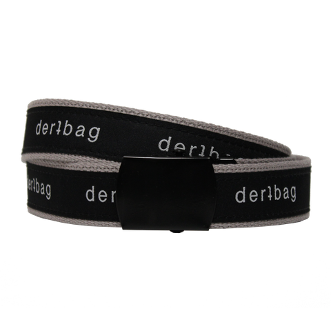 GREY DERTBAG WEB BELT