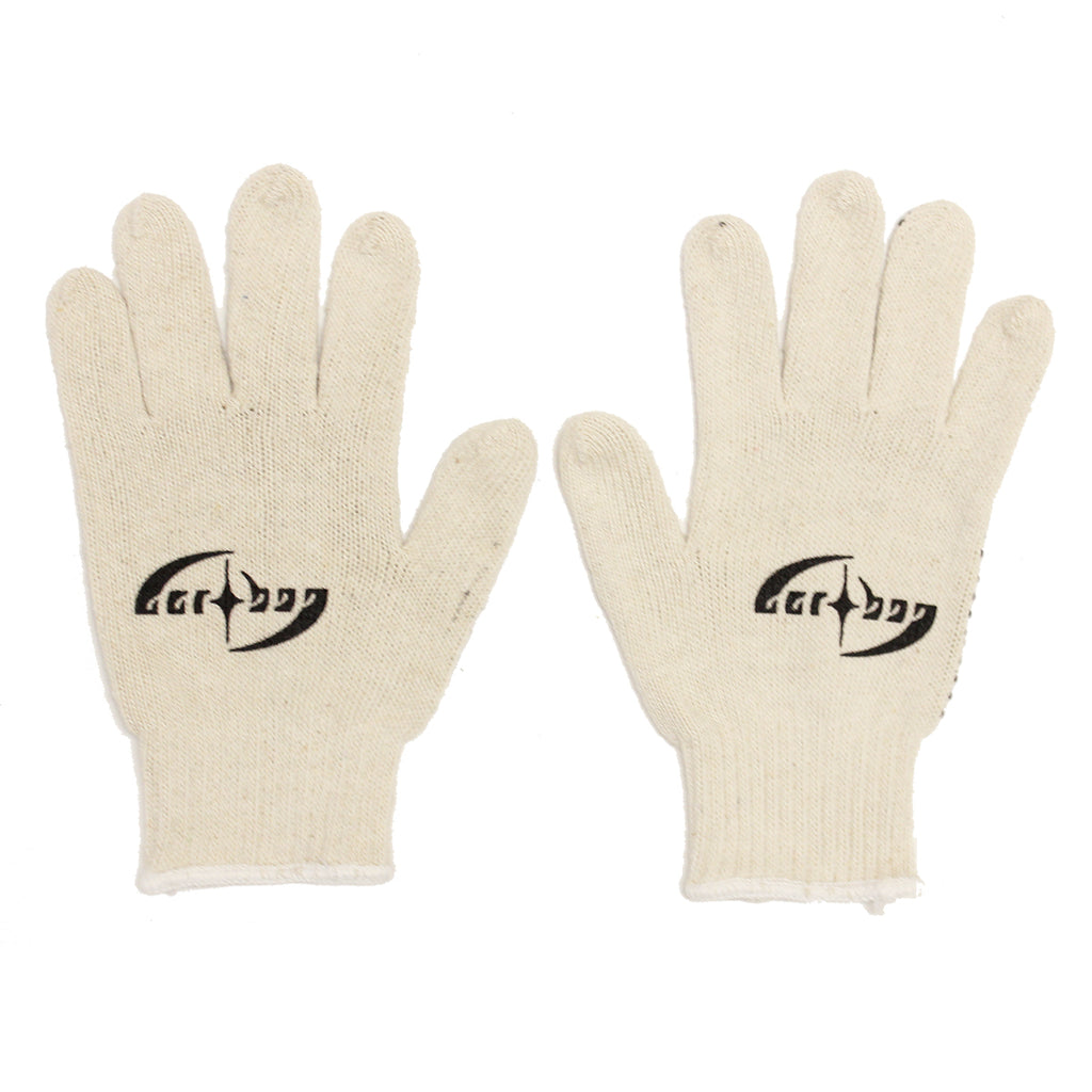DERTBAG HEALING STAR GRIP GLOVES NATURAL