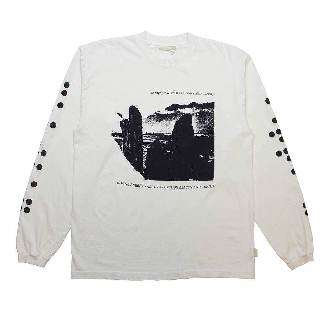 Highest Wisdom Antique White Longsleeve