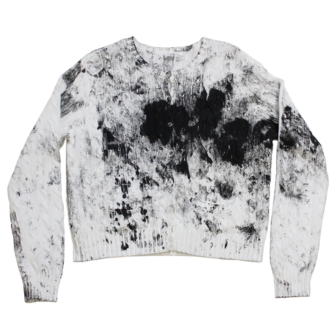 PAINTED PROTOTYPE CARDIGAN M