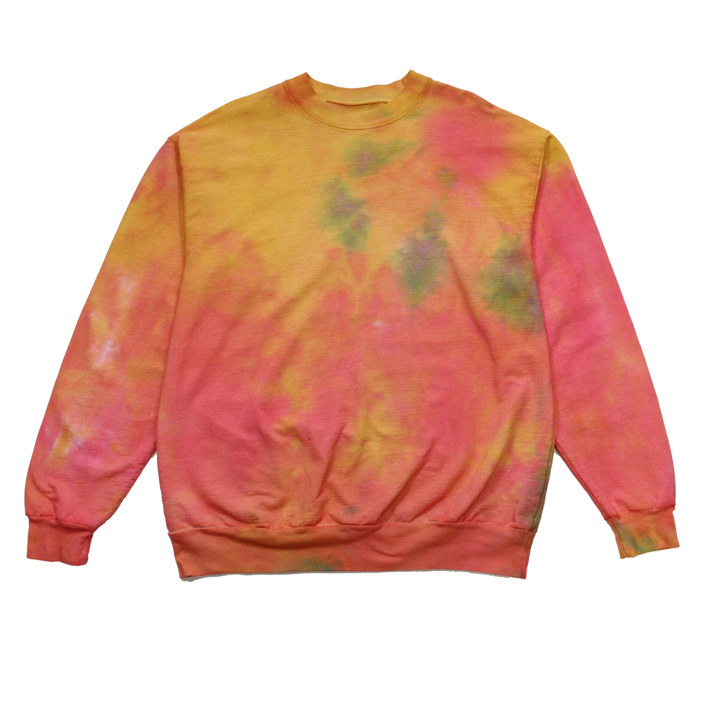 FORMAL HIPPIE TIE DYE CREWNECK