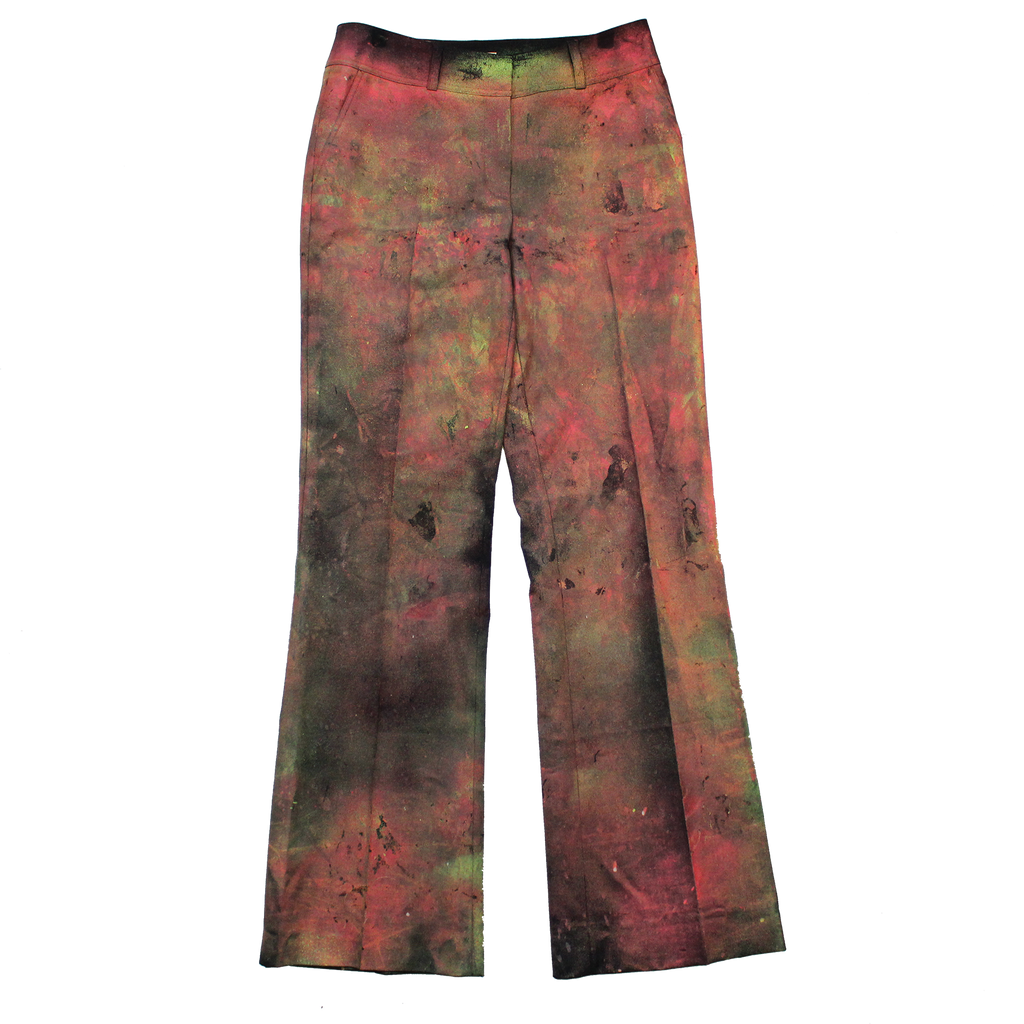 FORMAL HIPPIE SPRAY PAINTED PANTS