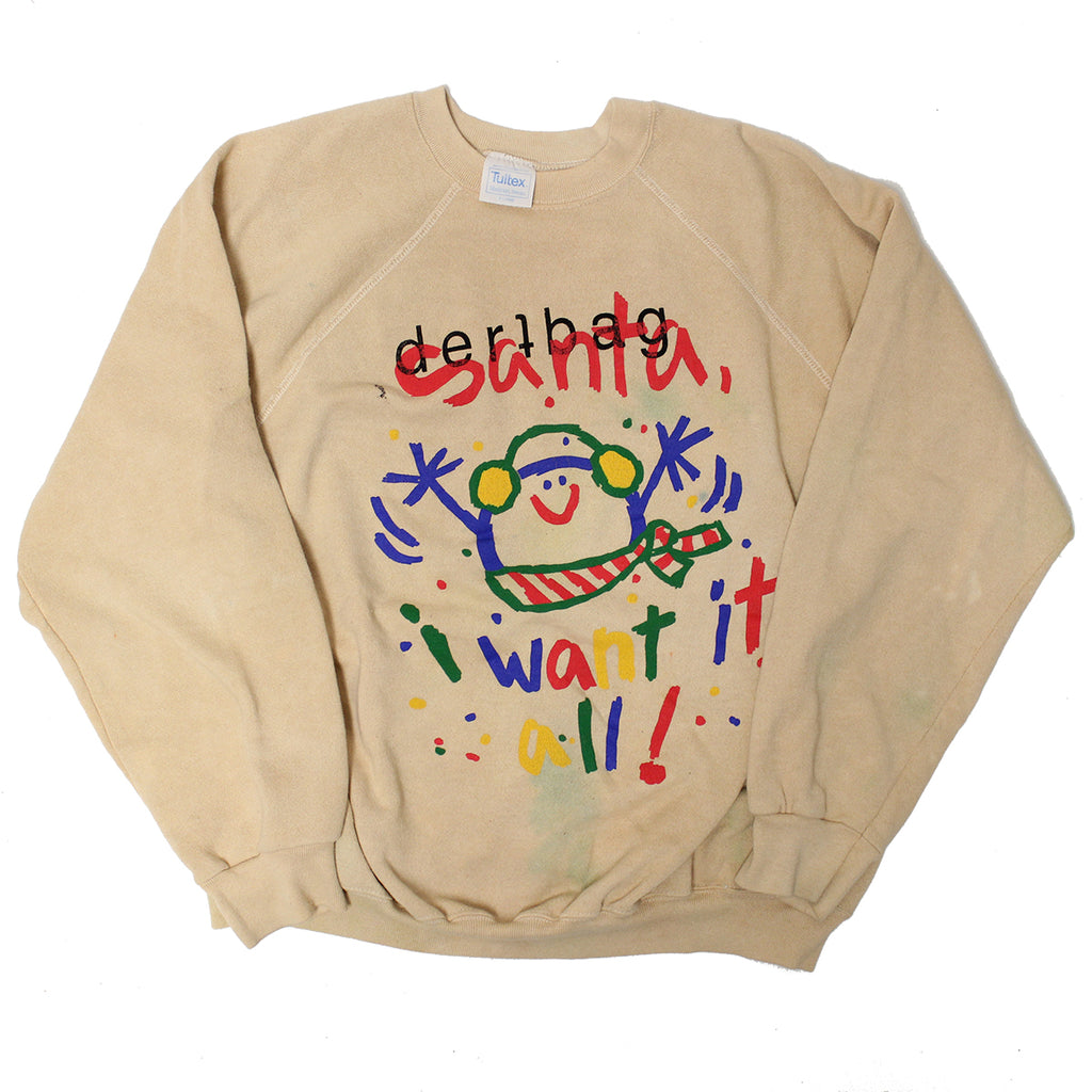 VINTAGE I WANT IT ALL SWEATER XL