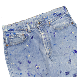 PAINTED BOOTCUT JEANS