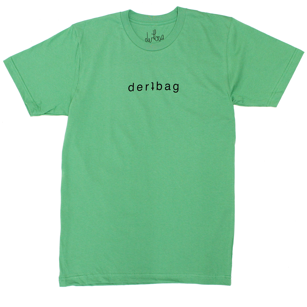 LIME DERTBAG LOGO T-SHIRT