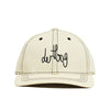 NATURAL CONTRAST STRAPBACK HAT