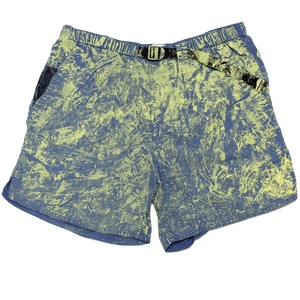 PAINTED NORTH FACE SHORTS